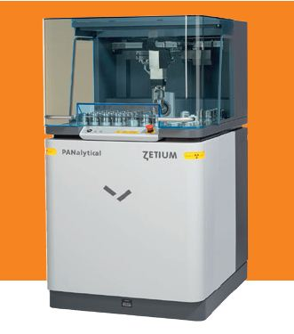 The Zetium XRF spectrometer