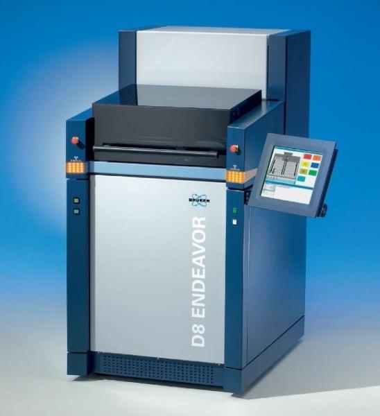 D8 ENDEAVOR process diffractometer.