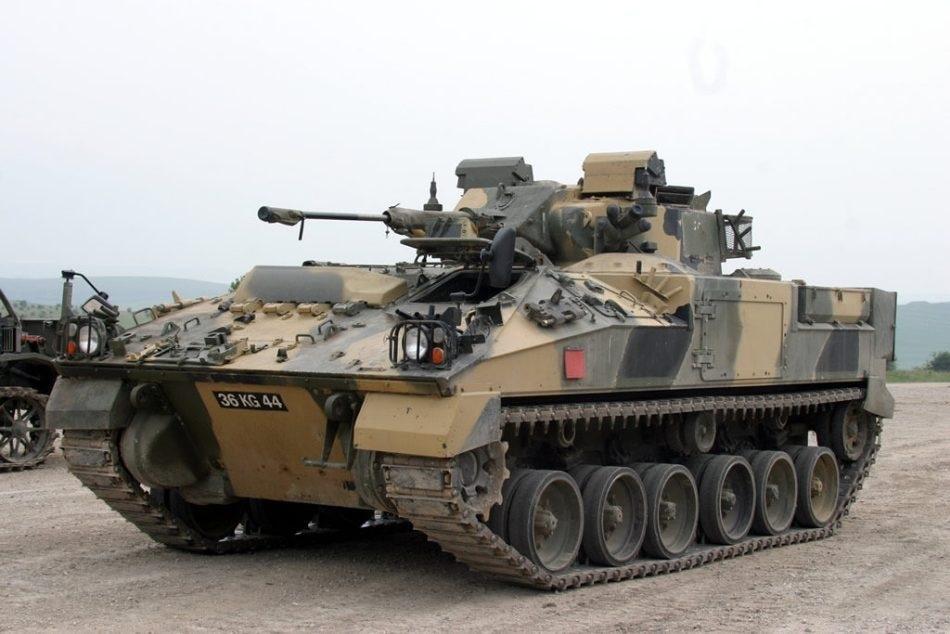 Armor plated steel