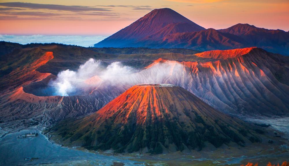 volcano, green mining