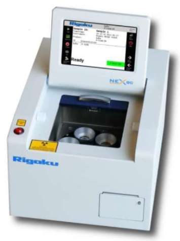 The Rigaku NEX QC EDXRF Analyzer