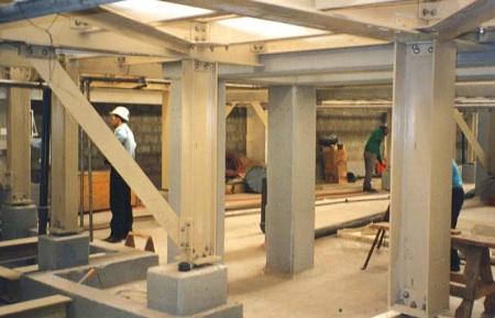 EXTREN® fiberglass structural shapes and DURADEK® grating