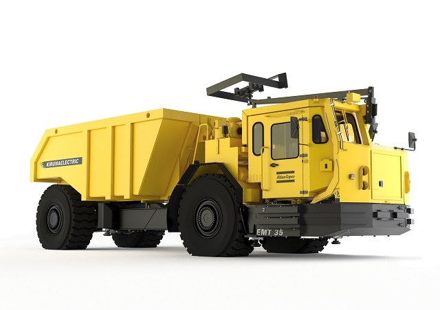 Electric Minetruck EMT35.