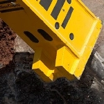 The RB900 HD Heavy Duty Gyratory Crusher Pedestal Boom from Atlas Copco