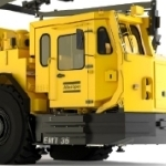 High Productivity 35 Tonne Capacity Electric Minetruck from Atlas Copco