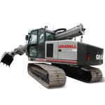 Crawler Excavators from Gradall Industries Inc.