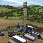 Super Single Oil Drilling Rigs from MD Cowan