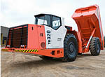 TH320 Trucks from Sandvik Mining and Construction