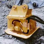 tMM Series Hydraulic Plate Compactors from Tramac Corporation