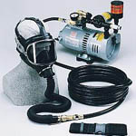 Continuous flow respirator from Drägerwerk AG & Co.