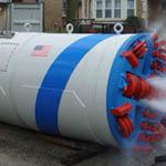 Microtunneling machine from Akkerman Inc.