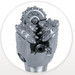 Rotary drilling bit from Technidrill DGA