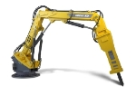 Extreme Duty Pedestal Boom: RB600 XD by Atlas Copco