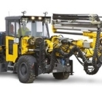 Boomer M2 C Face Drilling Rig from Atlas Copco