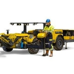 Low Roof Height Rock Bolt Rig - Boltec SL from Atlas Copco