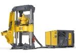 Low Profile Small Diameter Raise Drill for Slot Raises, Back Filling and Narrow Vein Mining - Robbins 34RH C