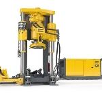 Rail Mounted Rail Boring Machine – Robbins 44RH C Rail Raise Boring Machine from Atlas Copco