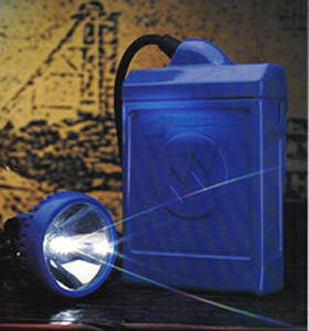 4 Volt 16 Ah Miner's Caplamp from First National Battery