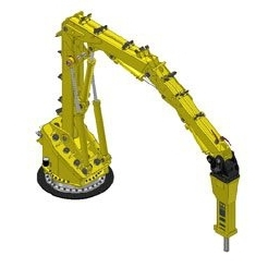 The RB1050 XD for Extreme Duty Grizzly and Large Gyratory Crushing Applications