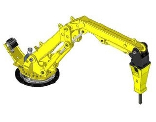 Atlas Copco Offers RB500 XD Pedestal Boom for Extreme Duty Applications