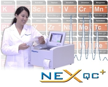 NEX QC+ Energy Dispersive X-Ray Fluorescence Analyzer
