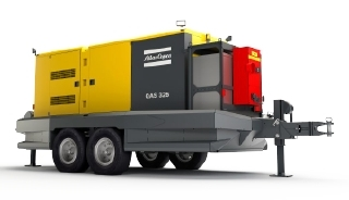 Portable Generators for Mining – Gentrail GT325 from Atlas Copco
