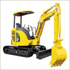 Compact excavator from Komatsu Ltd.