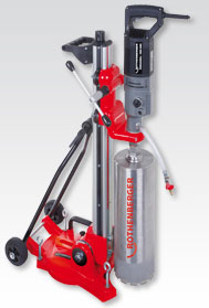 170 PRO C Diamond Core Drilling Rigs from ROTHENBERGER