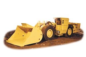 R1300G Underground Mining Loader from Caterpillar