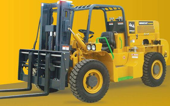 MINECAT FL6000 Loader from Industrial Fabrication
