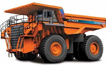 EH5000ACII Rigid Frame Truck from Hitatchi