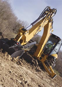 420E IT Backhoe Loader from Caterpillar