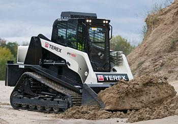 PT-100 Compact Track Loader from Terex