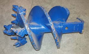 Single Row Bullet Tooth Auger from Versalift East Inc.