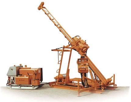 Hydraulic rotary drilling rig from Acker Drill Company