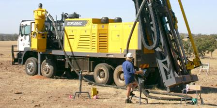 220RC Surface drilling rig from ORLANDO DRILLING