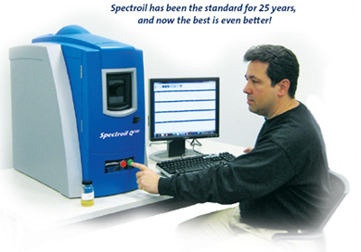 Spectroil Q100 Oil Analysis Spectrometers by Spectro Inc.