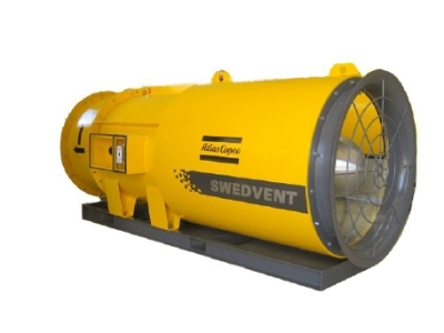 SwedVent High Pressure Fans from Atlas Copco