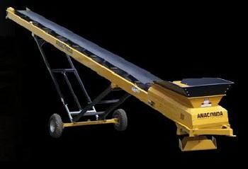 ST Series Wheeled Conveyors from Anaconda Equipment