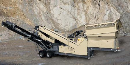 The MS842W Two Deck Screen from Crusher Screen