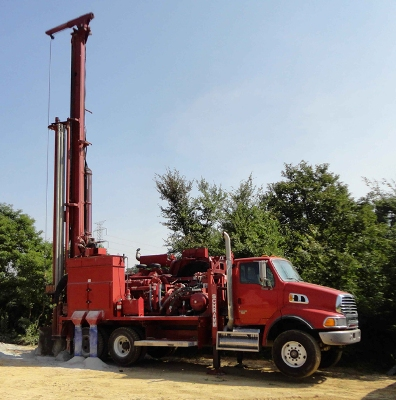 Truck Mounted Drill Rig: T455WS