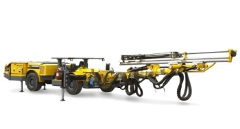 Boomer S1 L Face Drilling Rig from Atlas Copco