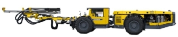 Boomer M1 L Hydraulic Face Drilling Rig from Atlas Copco