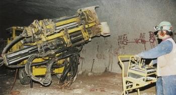 Long-Hole Drilling Rig Simba 1254 by Atlas Copco