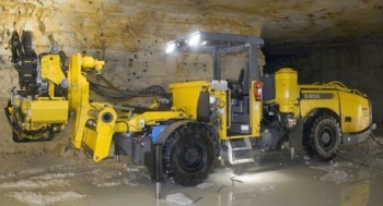 Simba L3 C Long-Hole Drilling Rig for Medium Sized Drifts by Atlas Copco