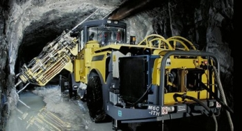 Long-Hole Drilling Rig Simba M6 C-ITH from Atlas Copco