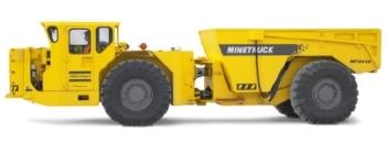 20 Tonne Underground Mine truck - The MT 2010 by Atlas Copco