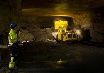 Scooptram RRC Underground Loader by Atlas Copco