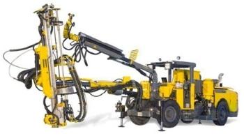 Fully Mechanized, Hydraulic Rock Drill Rock Bolting Rig - Boltec MC from Atlas Copco