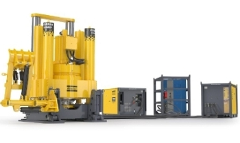 The Robbins 123RVF C Raise Boring Machine – for Sinking Shafts in Mining and Civil Engineering from Atlas Copco